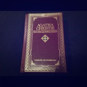 Agatha Christie 5 Hercules Poirot novels in one